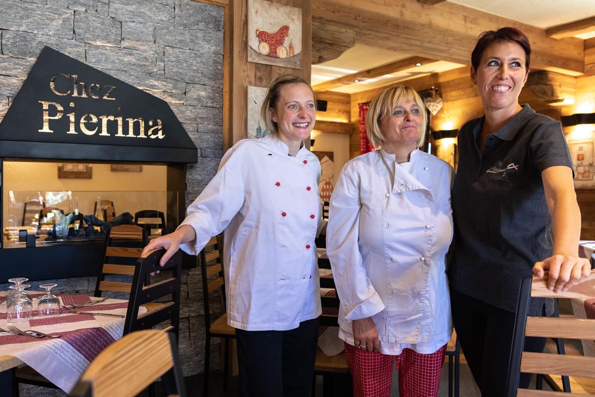 Chez Pierina - Lo staff