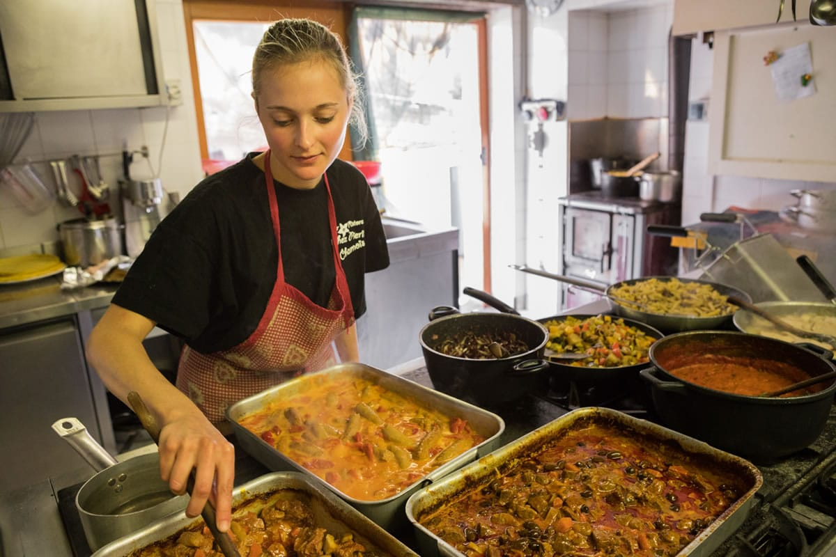 Cucina - Chez Pierina - Chamois