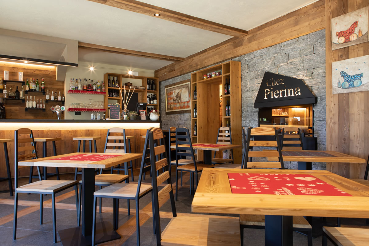Ristorante - Chez Pierina - Chamois